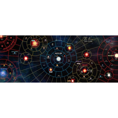 Firefly the Boardgame: the Whole Damn Verse – Playmat – EN