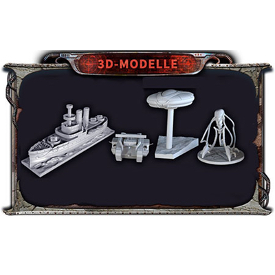 Krieg der Welten: Miniaturen Set