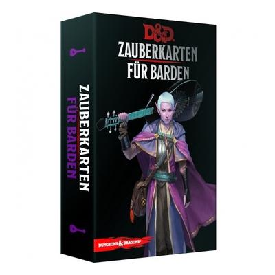 D&D: Zauberkarten für Barden – DE