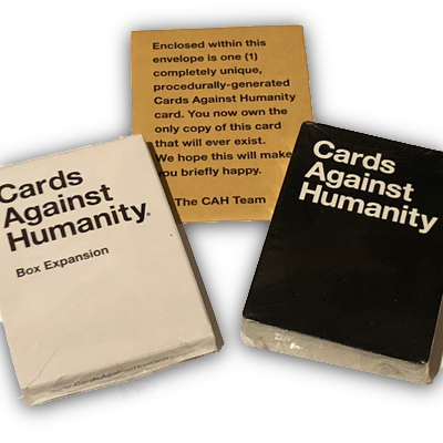Cards Against Humanity: Box Expansion (only cards) – EN