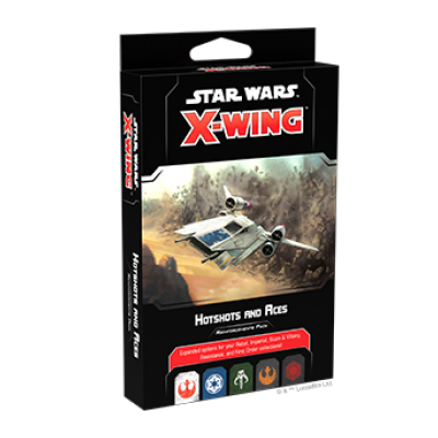 Star Wars X-Wing 2.Edition: Hotshots and Aces Reinforcements Pack – EN