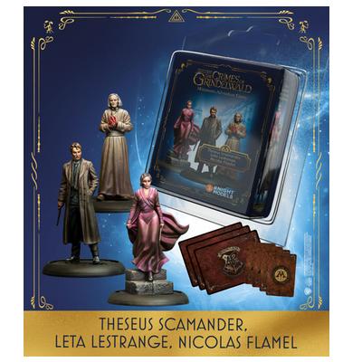 Harry Potter Miniaturenspiel: Theseus Scamander, Leta Lestrange & Nicolas Flamel  – EN