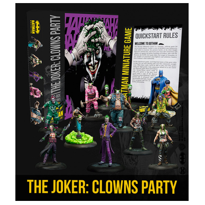 Batman/DC Miniature Game: The Joker Clowns Party Bat-Box – EN