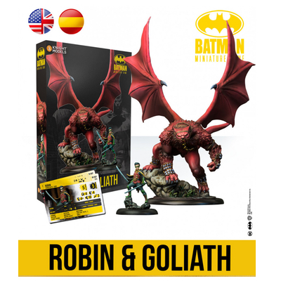 Batman/DC Miniature Game: Robin & Goliath – EN