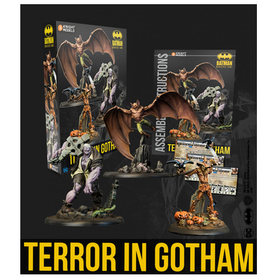Batman/DC Miniature Game: Terror in Gotham – EN