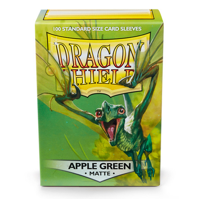 "Dragon Shield: Sleeves – Standard ""Apple Green Matte"" – 100 Stk"