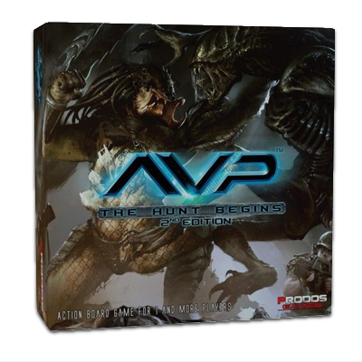 "Alien vs. Predator: The Hunt Begins ""2nd Edition"" – DE"