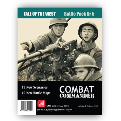 Combat Commander: Battle Pack #5 Fall of the West – EN