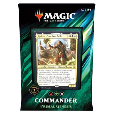 Magic: Commander 2019: Primal Genesis – EN