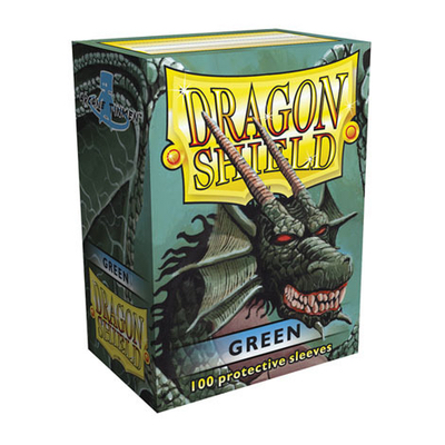 "Dragon Shield: Sleeves – Standard ""Green"" – 100 Stk"