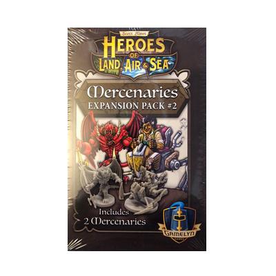 Heroes of Land, Air & Sea: Mercenaries Expansion Pack #2 – EN