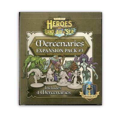 Heroes of Land, Air & Sea: Mercenaries Expansion Pack #3 – EN