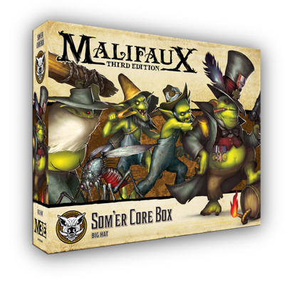 Malifaux: Som´er Core Box – EN