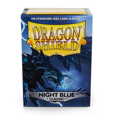 "Dragon Shield: Sleeves – Standard ""Night Blue"" – 100 Stk"