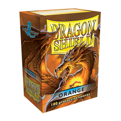 "Dragon Shield: Sleeves – Standard ""Orange"" – 100 Stk"