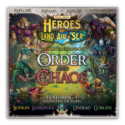 Heroes of Land, Air & Sea: Order and Chaos – EN