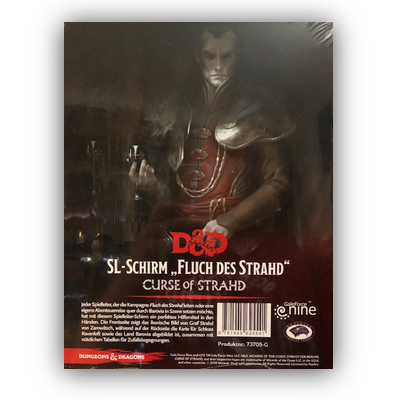 D&D: SL-Schirm – Fluch des Strahd – DE