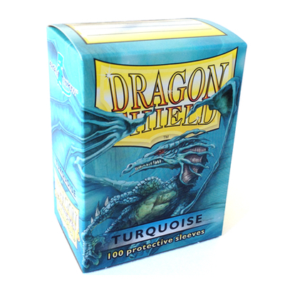 "Dragon Shield: Sleeves – Standard ""Turquoise"" – 100 Stk"