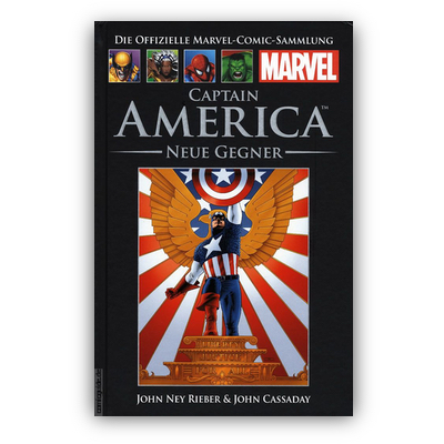 Die offizielle Marvel-Comic-Sammlung 27: Captain America: Neue Gegner (HC) – DE