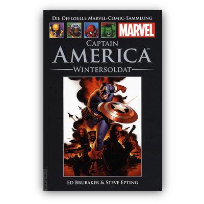 Die offizielle Marvel-Comic-Sammlung 44: Captain America: Wintersoldat (HC) – DE
