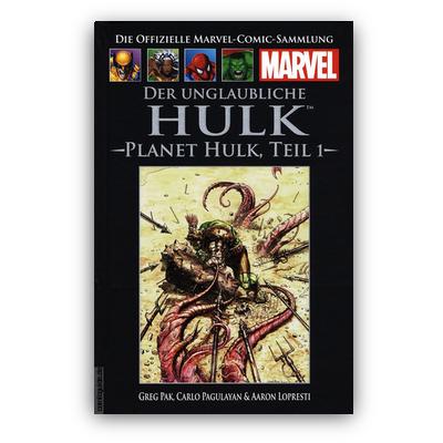Die offizielle Marvel-Comic-Sammlung 45: Der unglaubliche Hulk: Planet Hulk Teil 1 (HC) – DE
