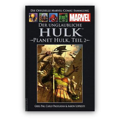 Die offizielle Marvel-Comic-Sammlung 46: Der unglaubliche Hulk: Planet Hulk Teil 2 (HC) – DE