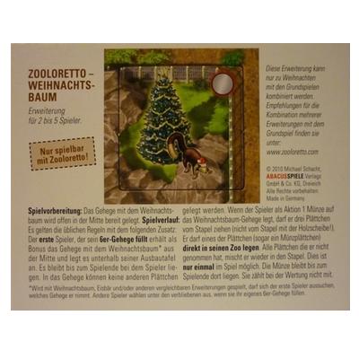 Zooloretto: Promoplättchen – Weihnachtsbaum
