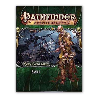 """Pathfinder: Abenteuerpfad – Was Ewig Liegt """"Band 1"""" (HC) – DE"""