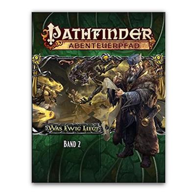 """Pathfinder: Abenteuerpfad – Was Ewig Liegt """"Band 2"""" (HC) – DE"""