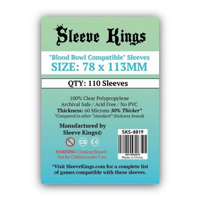 """Sleeve Kings: Sleeves – """"Blood Bowl Compatibl"""" (78×113) – 110 Stk"""