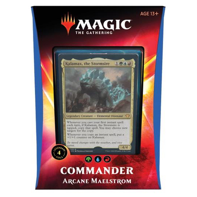 MTG: Commander Deck 2020: Arkaner Mahlstrom – DE