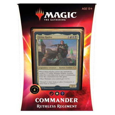 MTG: Commander Deck 2020: Unbarmherziges Regiment – DE