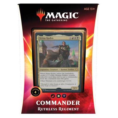 Magic: Commander Deck 2020: Ruthless Regiment – EN