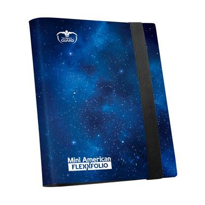 Ultimate Guard: 9-Pocket Mini American FlexXfolio – Mystic Space