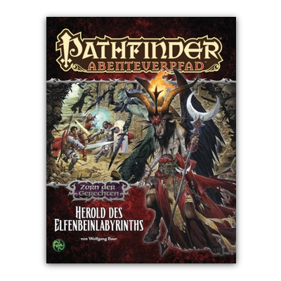 Pathfinder: Abenteuerpfad – Zorn der Gerechten 5/6 – Herold des Elfenbein-Labyrinths – DE