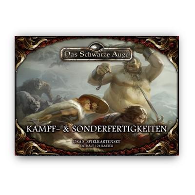 DSA5 Spielkartenset: Kampf- und Sonderfertigkeiten – DE