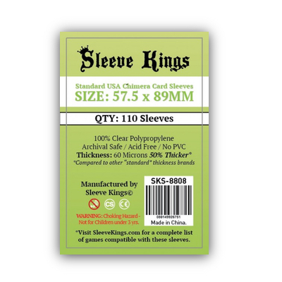 Sleeve Kings: Sleeves – Standard USA Chimera (57,5×89) – 110 Stk