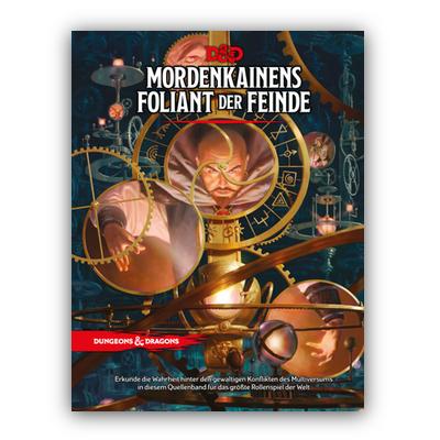 D&D: Mordenkainens Foliant der Feinde (HC) – DE