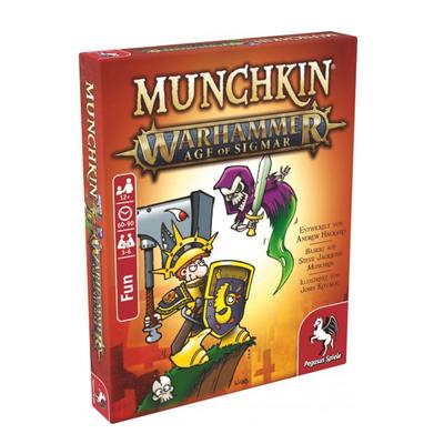 """Munchkin: Warhammer Age of Sigmar """"Tod und Zerstörung"""" – DE"""