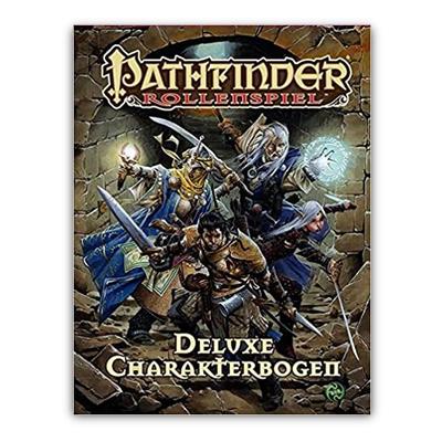Pathfinder: Deluxe Charakterbögen – DE