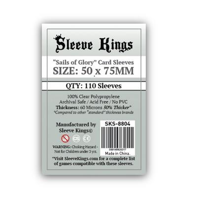 """Sleeve Kings: Sleeves – """"Sails of Glory"""" (50×75) – 110 Stk"""