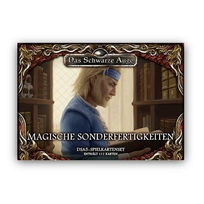 """DSA5 Spielkartenset: Aventurische Magie """"Sonderfertigkeiten"""" – DE"""