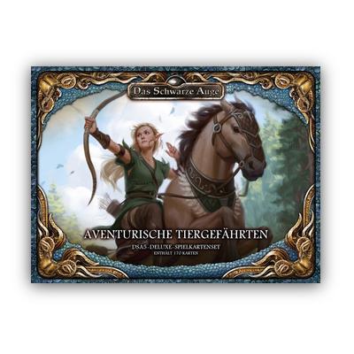 DSA5 Spielkartenset Deluxe: Aventurische Tiergefährten – DE