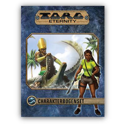 Torg Eternity: Charakterbogen-Set (SC) – DE