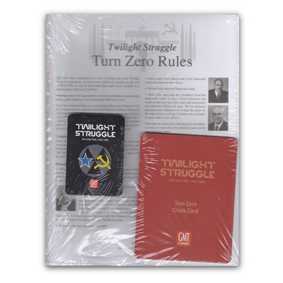 Twilight Struggle: Turn Zero and Promo Packs – EN