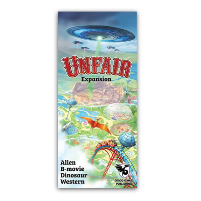 Unfair: Alien B-Movie Dinosaur Western – EN