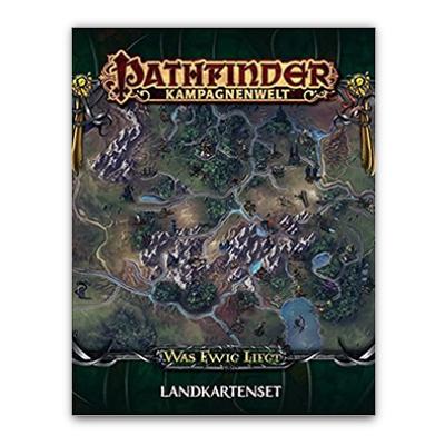 "Pathfinder: Kampagnenwelt – Was Ewig Liegt ""Landkartenset"" – DE"