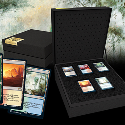 Magic: Secret Lair Ultimate Edition (the Enemy Fetch Lands) – EN