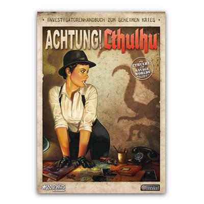 Achtung! Cthulhu: Investigatorenhandbuch – DE