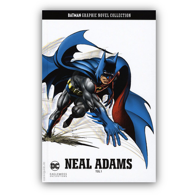 Batman Graphic Novel Collection 26: Neal Adams Teil 1 (HC) – DE